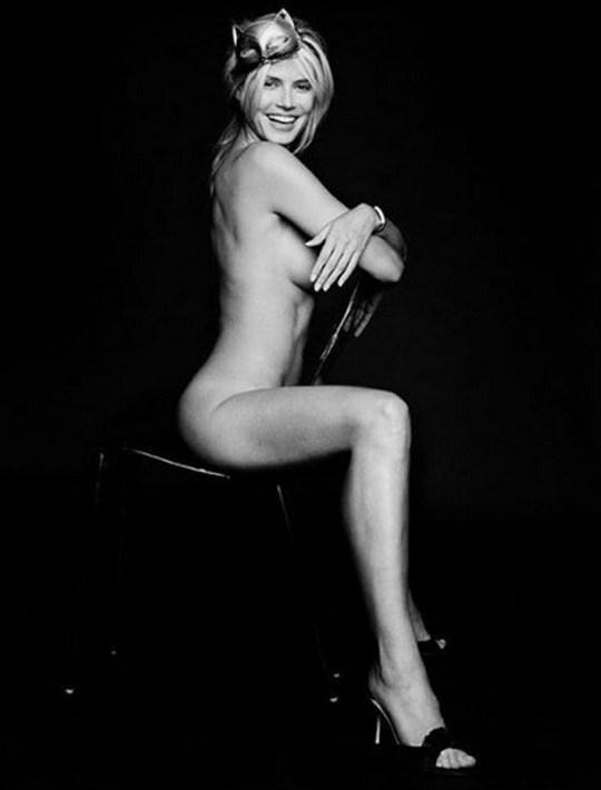 Супермодель Хайди Клум поклонники осудили за слишком откровенные снимки