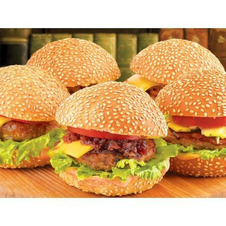 Доставка бургеров - голодными не останетесь!