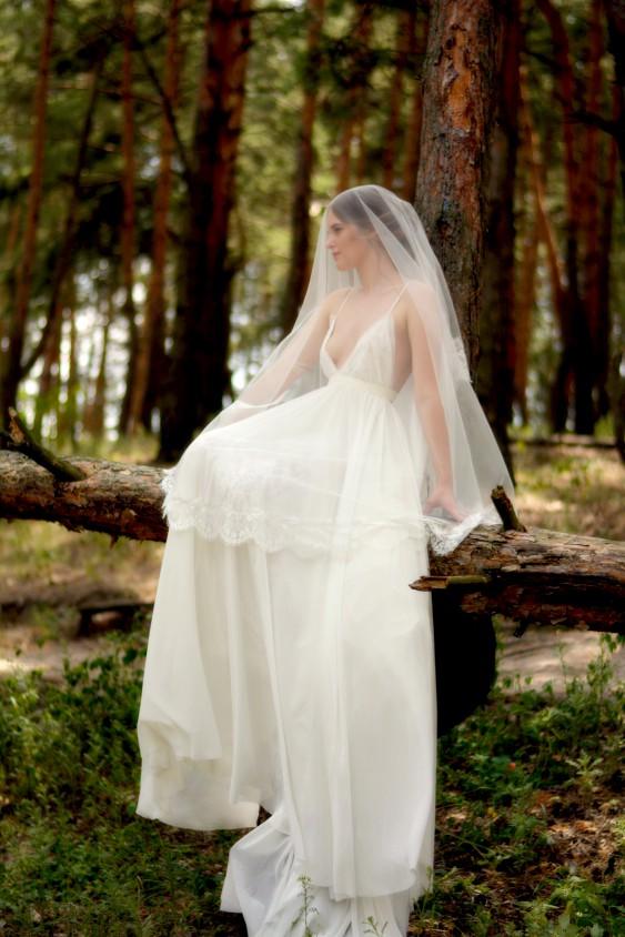 В помощь молодоженам: гид по видам свадебной фаты
