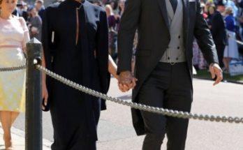 Виктория Бэкхем неприлично оделась на свадьбу принца Гарри и Меган Маркл