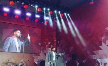 Заслуженный артист Украины выступил в Москве на 9 мая