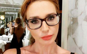 Ведущая Оксана Марченко показала подтянутую фигуру