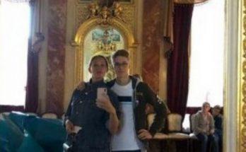 Екатерина Осадчая показала своего 15-летнего сына