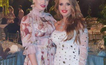 Украинская ведущая Оксана Марченко была замечена с племянницей принцессы Дианы