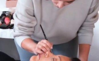 Ким Кардашьян в морге училась делать макияж