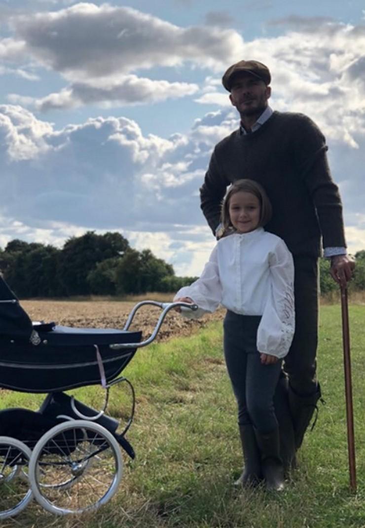 Дочка Виктории и Дэвида Бекхэм скопировала маму в юности