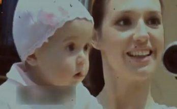 Ведущая Оксана Марченко в первый раз показала свою дочку