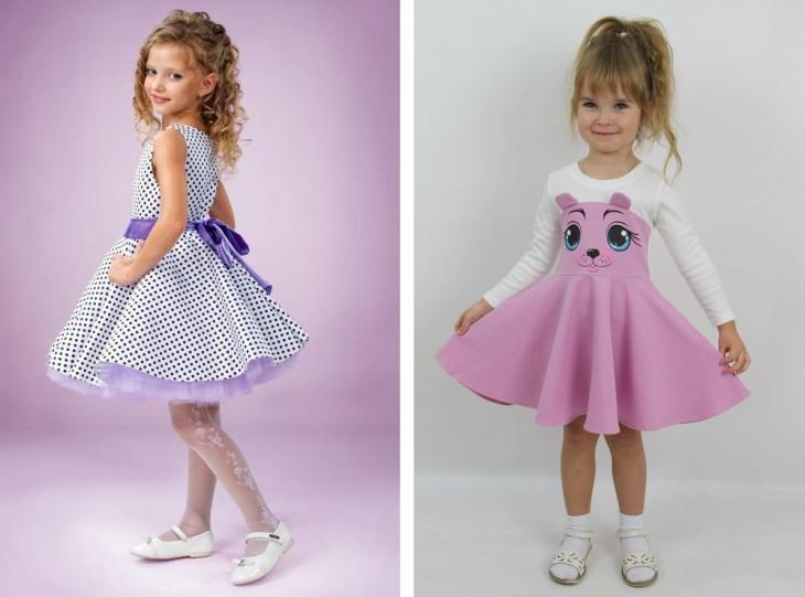 Детские платья: модные тенденции сезона