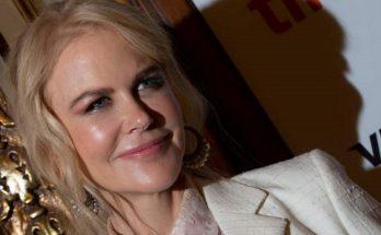 51-летняя Николь Кидман продемонстрировала лицо без макияжа