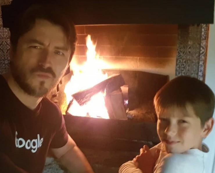 Ведущий Сергей Притула поделился совместным снимком с сыном