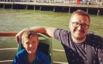 Музыкант Александр Пономарев показал своего сына