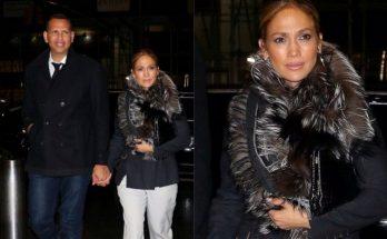 Дженнифер Лопес сходила на свидание со своим возлюбленным