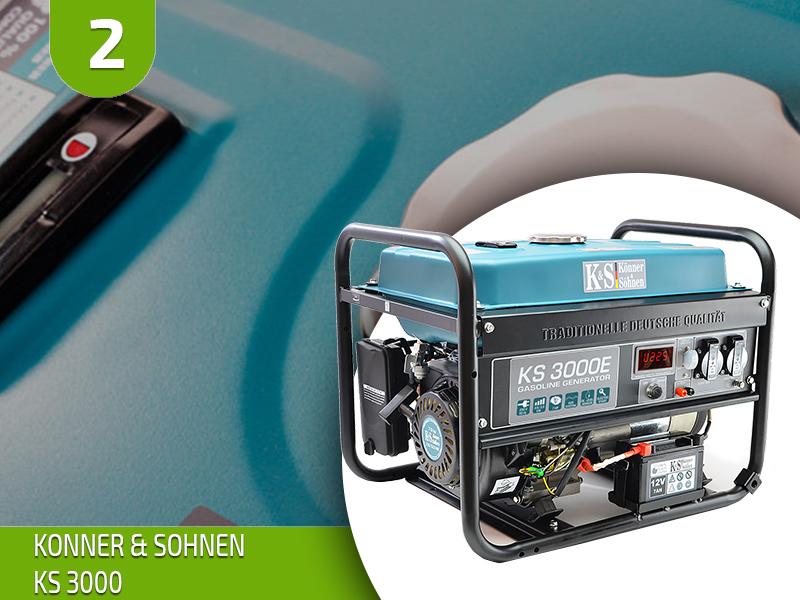 Обзор генераторов Konner&Sohnen – ТОП 7 лучших моделей