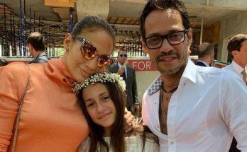 Дженнифер Лопес поздравила бывшего мужа