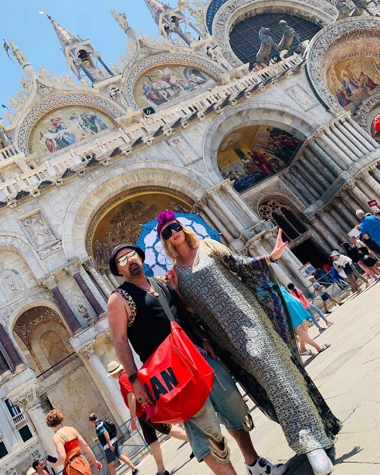 Ирина Билык и Дима Коляденко вместе отдыхают в Венеции