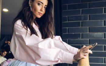 Певица Надя Дорофеева представила новую коллекцию одежды