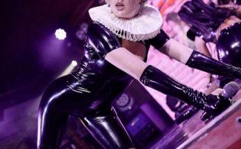 Скандальная певица MARUV впечатлила фанатов латексным нарядом