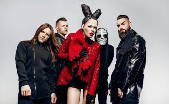 Юлия Санина в роли вампирши: темная сторона любви от The Hardkiss