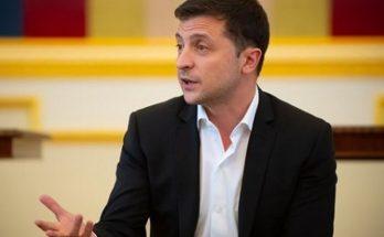 Владимир Зеленский встретился с украинскими знаменитостями