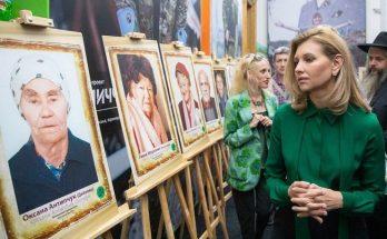 Елена Зеленская продемонстрировала скромный и стильный образ в День защитника Украины