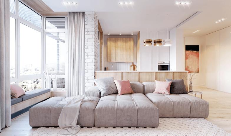 уютный домашний интерьер