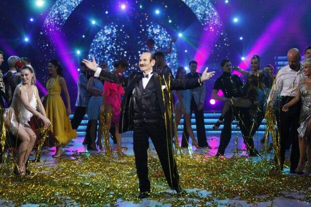 Возлюбленная Григория Чапкиса пришла поддержать его на эфир «Танцев со звездами»