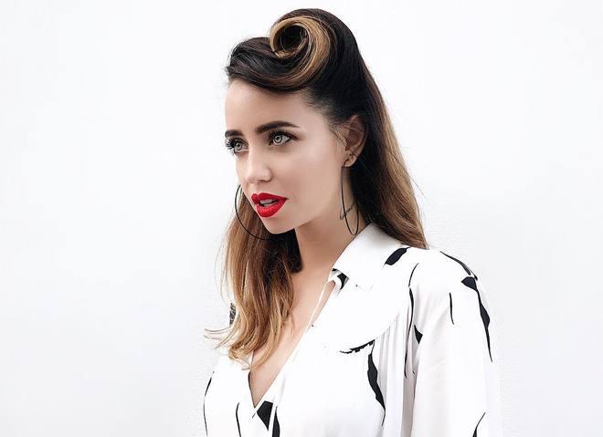 Надя Дорофеева показала стильный осенний look