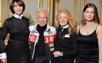 Моника Беллуччи в элегантном платье от Ralph Lauren за 100 000 гривен