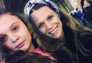 Телеведущая Ольга Фреймут с дочкой Златой отдыхают в Лондоне