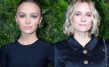 Лили-Роуз Депп и Диана Крюгер на вечеринке Chanel