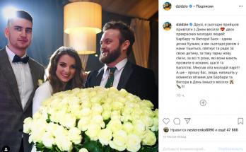 DZIDZIO поделился снимками со свадьбы дочки Кузьмы Скрябина
