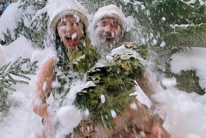 Снежана Бабкина показала, как весело проводит время вместе с мужем и детьми