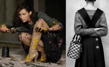 Белла Хадид и Лила Грейс Мосс выступили в роли художниц для кампании Miu Miu