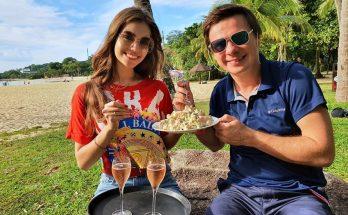 Дмитрий Комаров показал, как с женой проводит время в Сингапуре