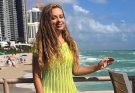 Яна Соломко показала, как весело проводит время с дочкой в Майами