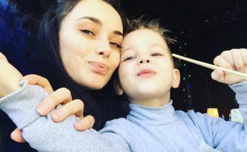 Ксения Мишина разрешила своему сыну покрасить волосы в другой цвет