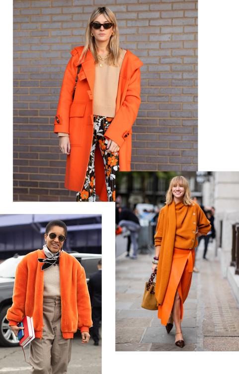 Tangerine – самый сочный оттенок зимы 2020