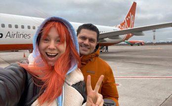 Светлана Тарабарова отправилась с мужем в Испанию