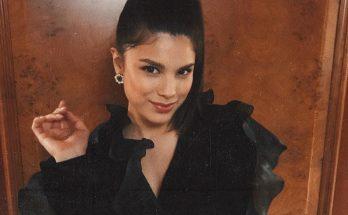 Мишель Андраде восхитила поклонников нарядом в стиле 90-х