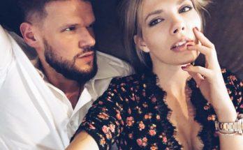 Беременная Антонина Паперная с мужем и дочкой появилась на обложке глянцевого журнала