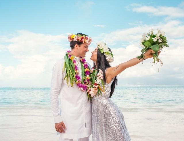 Наталья Татаринцева показала, как проходила ее свадьба на Таити