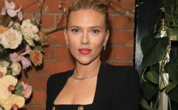 Скарлетт Йоханссон в самом модном платье этого года блистала на светской вечеринке