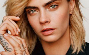 Кара Делевинь снялась в рекламной кампании для французского модного дома Dior