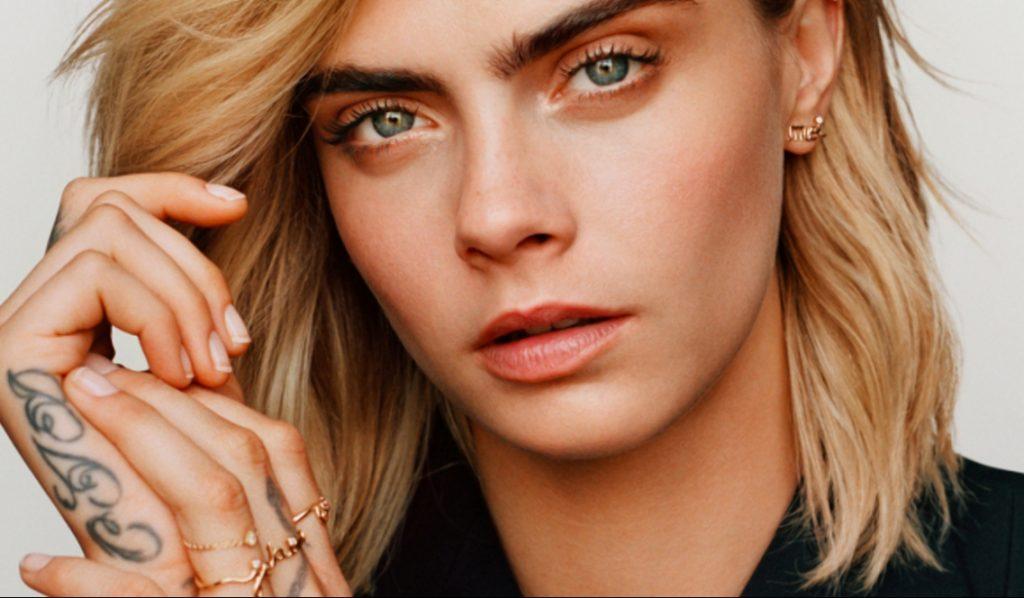 Кара Делевинь снялась для Dior