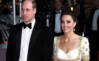 Кейт Миддлтон в роскошном платье от Alexander McQueen посетила премию BAFTA-2020