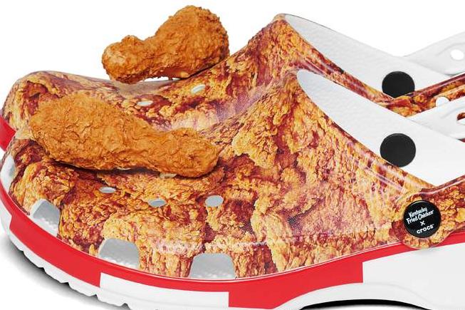 Калоши KFC x Crocs