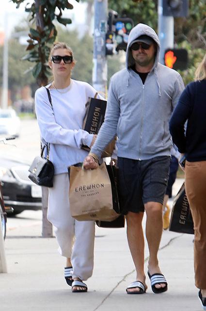 Леонардо ДиКаприо и Камила Морроне замечены вместе на шопинге в Лос-Анджелесе
