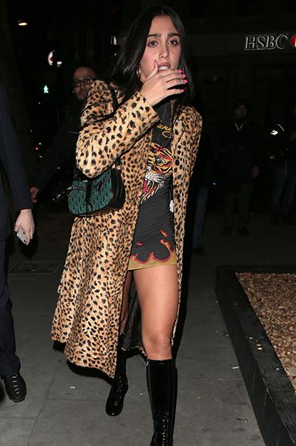 Дочь Мадонны Лурдес Леон на вечеринке в Лондоне