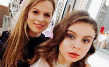 Ольга Фреймут поделилась совместной фотографией с подросшей дочкой