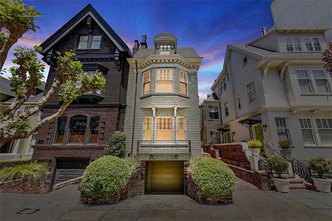 Как выглядит особняк Джулии Робертс в Сан-Франциско